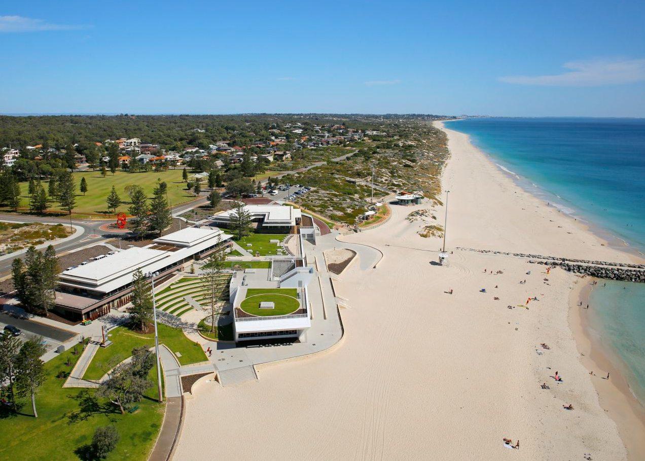 City Beach landscaping design