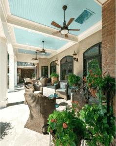 patio fans cool alfresco area