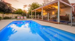 Pool coping and Bullnose Pavers Perth